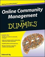 Online Community Management For Dummies by Ng, Deborah