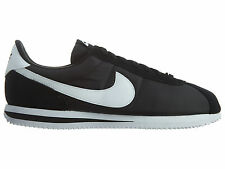 Nike Cortez Basic Nylon Mens 819720-011 Black White Running Shoes Size 9.5