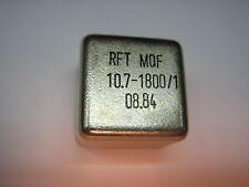 Quarzfilter MQF 10,7-1800/1, Bandbreite 3dB= 18khz, RFT