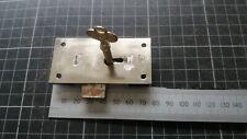 Vintage Steel Cabinet-Drawer  lock   77mm -1 Key  (301)