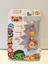 Marvel Tsum Tsum Series 1 - New #05553 - Ant-Man, Iron Man & Black Widow