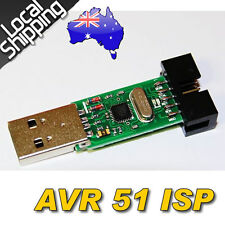 USBasp USBISP AVR Programmer USB ATMEGA8 C51 USB ISP + Cable OZ Local