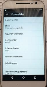Motorola Moto G4 - 16GB - White Smartphone (Dual SIM)