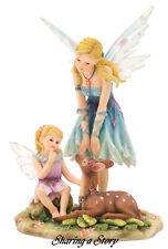 "Faerie Glen ""Sharing a Story"" Fairy Figurine Retired 2008."