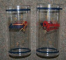 Houston Astros SGA 20 oz Team Tumbler Glass/Cup Set Ozarka Water