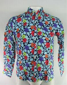 Vilebrequin Men's Floral Print Button-Down Long Sleeve Shirt