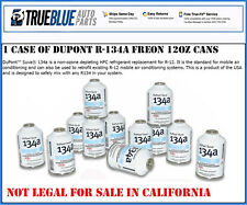 ONE CASE OF DuPont R-134A/R134a REFRIGERANT/FREON (12) TWELVE 12oz CANS PER CASE