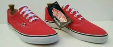 Vans Classic Skate Shoe Sneakers Off the Wall Red White Mens UK9.5, EUR 44