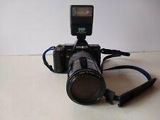 Minolta 7000 Maxxum film camera, Maxxum Af Zoom 70-210mm, Focal M-200flash Parts