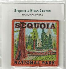Sequoia National Park Souvenir Patch