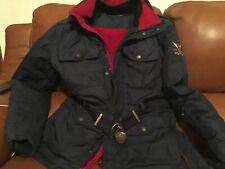 Doudoune Trench-coat  SKI Polo Ralph Lauren Bleu Nuit Duvet Taille S Mixt