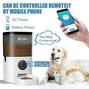 Wireless Automatic Pet Feeder Dog Cat Food Dispenser WiFi Feeder food Dispenser