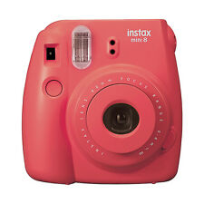 Fuji Instax Mini 8 Fujifilm Instant Film Camera Raspberry
