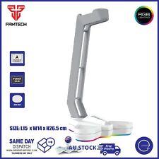 Fantech Headset Stand with RGB Light Headphone Base Holder Hanger 150x140x265mm