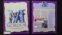 Mordor - The Depths of Dejenol - Legacy Role Playing Game for the PC boxed set