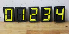 Signalex 402L 7 Segment Anzeige Arduino Flipdot Display Klappzahlen