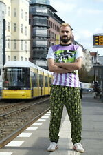 Buntes Herren Shirt T-Shirt kurzarm 80er shirt True VINTAGE W.-Germany 90s hemd