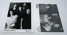 """Bullet Lavolta 8x10"""" Original Press Promo Photo RCA Taang Lot of 2"""