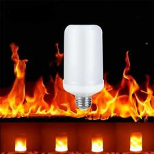 Hot Light Lampada a sfarfallio a 360 °Lampada a fuoco decorativo da 5W 99LED