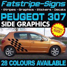 PEUGEOT 307 GRAPHICS STRIPES DECALS STICKERS GTI PUG ESTATE CC 1.4 1.6 2.0 D HDi