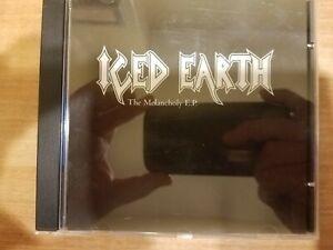 Iced Earth The Melancholy E.P. Promo RARE 2000 Judas Priest Black Sabbath Covers