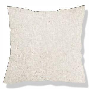 Tailor Made*COVER*Linen cotton Blend sofa patio cushion pillow case custom *Nk