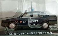 Alfa Romeo Alfa 90 Super 1986 Carabinieri - Scala 1:43 - Atlas - Nuovo
