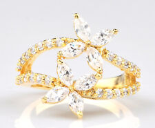 1.80CT Stunning Marquise Shape 14KT Solid Yellow Gold Solitaire Wedding Ring