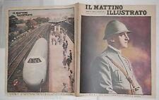 1931 Morte del duca d Aosta Emanuele Filiberto di Savoia Milano Zeppelin treno