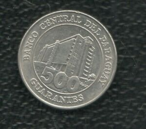 PARAGUAY 500 GUARANIE 2011