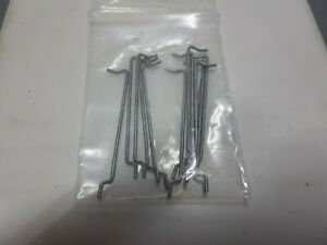 1-1/4''new slot car body clips for sprints plus riggen & others.6 pair see pics.