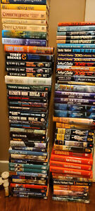 FANTASY AND SCI-FI USED HARDCOVER BOOK LOT - MANY AUTHORS AVAILABLE