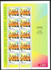 Australian 2012 Olympics Canoe / Kayak Men's K4 1000m Sheetlet Mint