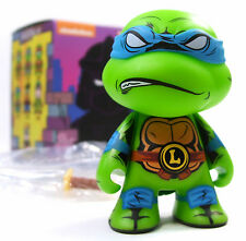 """Kidrobot TMNT MINI SERIES 2 SHELL SHOCK LEONARDO 3"""" Teenage Mutant Ninja Turtles"""