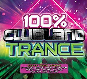100% Clubland Trance CD NEW