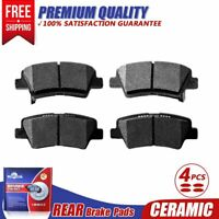 Rear Ceramic Brake Pads For Hyundai Accent Elantra Veloster, Kia Forte5 Rio Soul