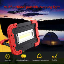 COB LED Working Work Light Waterproof USB Rechargeable Emergency Lamp Power Bank