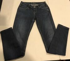 Women's Silver Jeans Suki Straight Jegging 26x31 Dark EUC