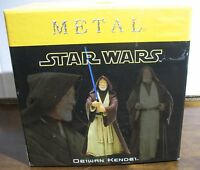 Gorgeous Metal Star Wars ObiWan Kenobi ATTAKUS COLLECTION Obi-Wan Ben MIB NIOB