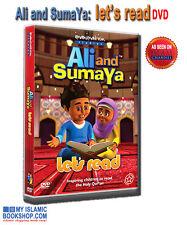 ALI AND SUMAYA: LET'S READ DVD MUSLIM KIDS WATCH & LEARN QURAN BEST GIFT IDEAS