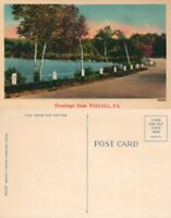 GREETINGS FROM WOXALL PA VINTAGE POSTCARD