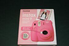 Fujifilm Instax Mini 9 - Flamingo Pink Instant Film Camera