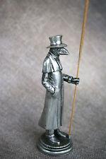 Birdman Plague Doctor Incense Burner - Pewter Incense Holder Lorme Schnabel