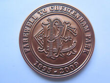 FAREWELL CHELTENHAM PARK RACECOURSE 1895 to 2009 114 YEARS of RACING TOKEN MEDAL