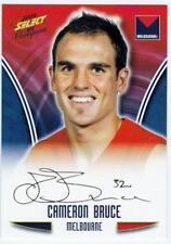 2009 AFL Select Gold Foil Signature - Cameron Bruce - Melbourne