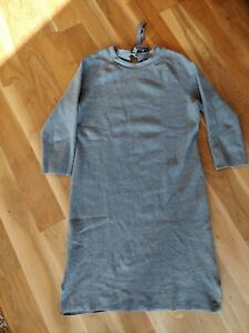 Marc O Polo Strickkleid Grau Gr. 40