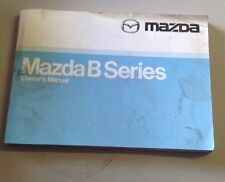 Madza Owners Manual Book