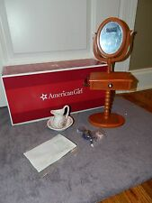 "American Girl Doll Marie Grace Cecile Vanity Set and Accessories 18"" Doll NIB!"