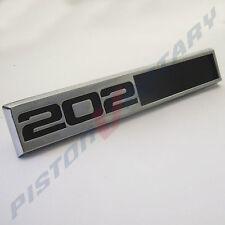 202 Boot Lid Badge , NEW Holden HQ Kingswood Premier Monaro Belmont tailgate