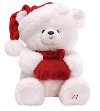 GUND Christmas Night Night Jingle Bells Bear Soft Toy NEW